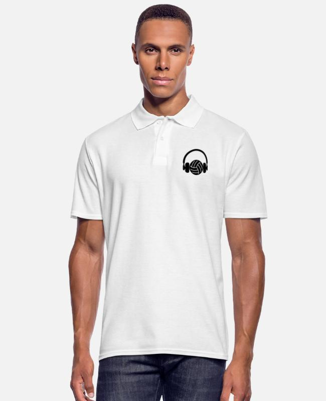 Ganando Camisetas polo - Volleyball - Volley Ball - Volley-Ball - Sport - Camiseta polo hombre blanco