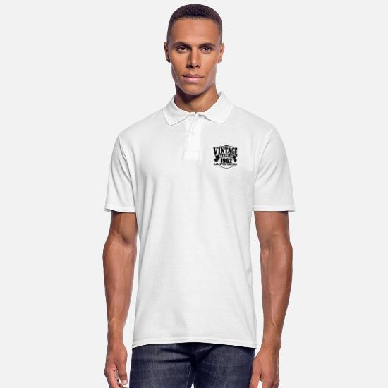 Established Polo Shirts - Vintage made in 1962 - Men's Polo Shirt white