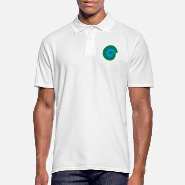 spirale couleur - Polo Homme