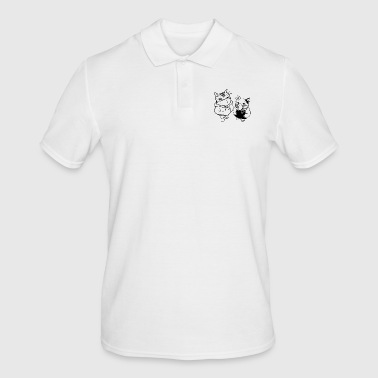 Masked masks - Men's Polo Shirt