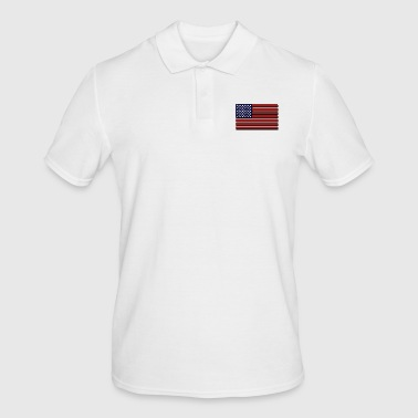 United States flag - Polo da uomo