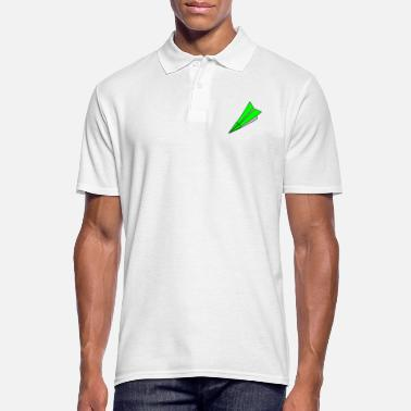 Paper origami paper plane paper airplane43 - Men's Polo Shirt