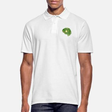 Chip Brain Computer Chip Chip Computer - Men's Polo Shirt