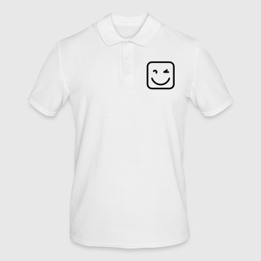 Sympathie Sympathique smiley - Polo Homme