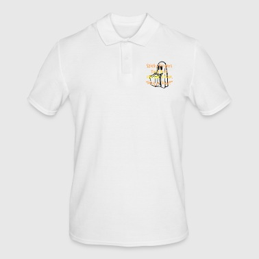 House Sticky fingers tried feet on last house - Männer Poloshirt
