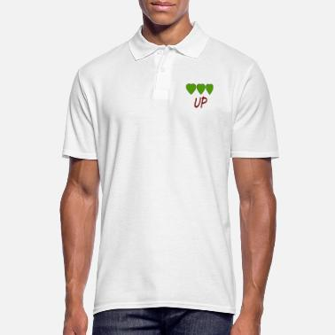 Up UP - Mannen poloshirt