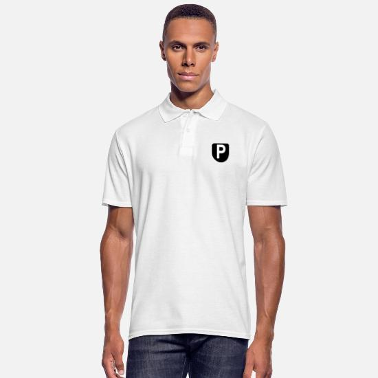 Gift Idea Polo Shirts - Peter the meter - Men's Polo Shirt white