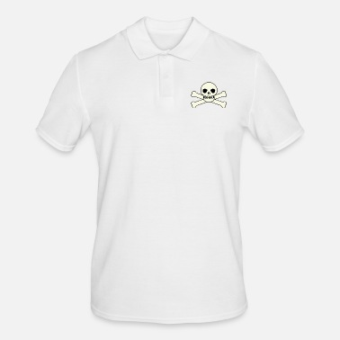 Skull And Bones skeleton skeleton bones bones skull schaedel191 - Men's Polo Shirt