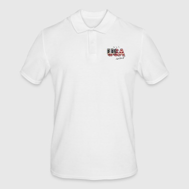 United States of America (USA) - Men's Polo Shirt