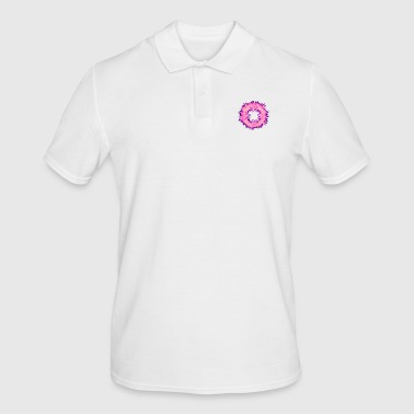 Fire Wreath Pink - Men's Polo Shirt