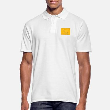 Sand Heart in the sand - Men's Polo Shirt