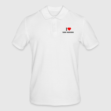 I love San Marino - Men's Polo Shirt