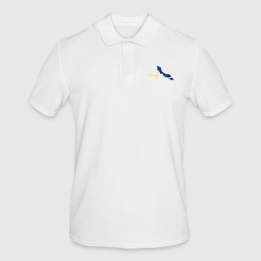 Heartbeat Curacao gift - Men's Polo Shirt