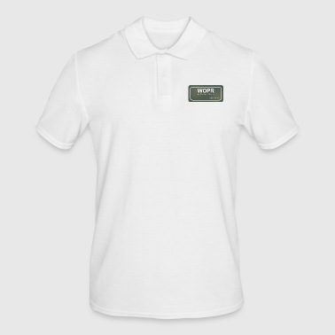 Operator WOPR Operator - Men's Polo Shirt