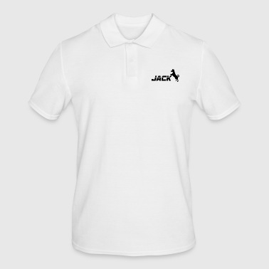 Dog / Jack Russell: Jack - Men's Polo Shirt