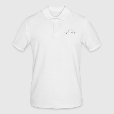 Heartbeat heartbeat - Men's Polo Shirt