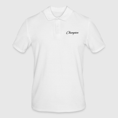European Champion champion - Men's Polo Shirt