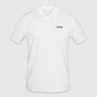 russia - Men's Polo Shirt