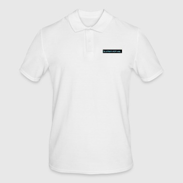 is not right - Men's Polo Shirt
