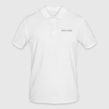 WEALTH and POVERTY - Men's Polo Shirt