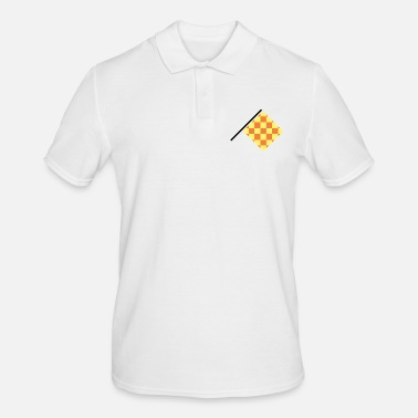 Offensive Offensive Referee Flag - Men's Polo Shirt