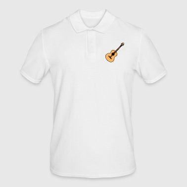 Acoustic guitar - Men's Polo Shirt