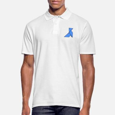 Paper origami paper plane paper airplane6 - Men's Polo Shirt