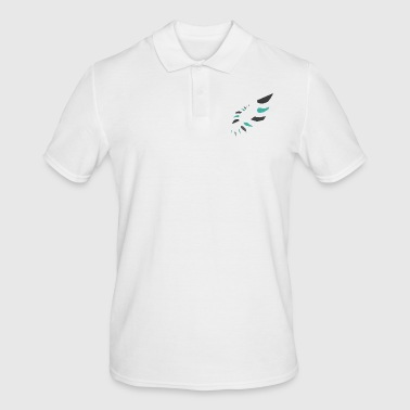 Spike Oval pattern spiked - Men's Polo Shirt