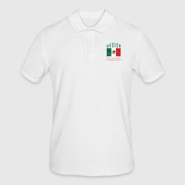 Mexican Flag Bandera Mexico - Men's Polo Shirt
