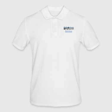 Wijk Brighton Boston, VS Land, City Neigborhood Toeristische geschenken - Mannen poloshirt