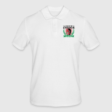 I Live In The Garden Just Sleep In The House - Men's Polo Shirt