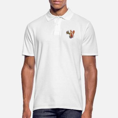 Mustereichhoernchen - Men's Polo Shirt