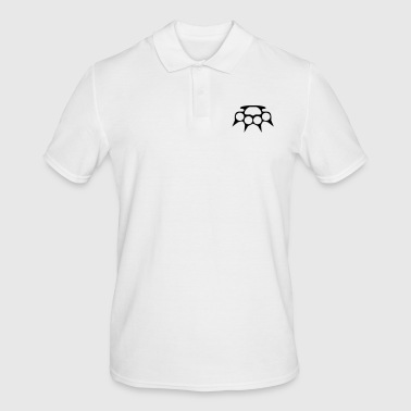Spike Knuckle with spikes - Men's Polo Shirt