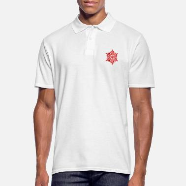 Flake Red flake - Men's Polo Shirt