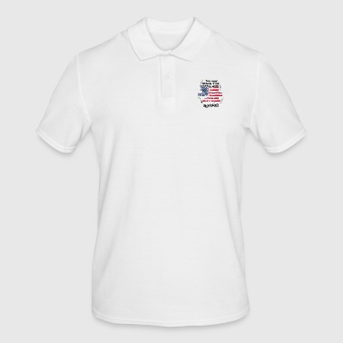Raleigh THERAPY HOLIDAY AMERICA USA TRAVEL Raleigh - Men's Polo Shirt