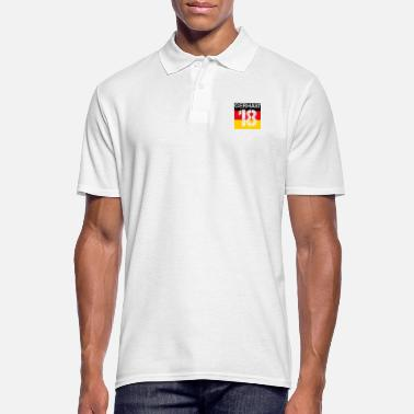 Germany football malls team wm em champion 18 - Men's Polo Shirt