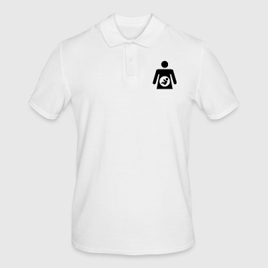 Pregnant - Men's Polo Shirt