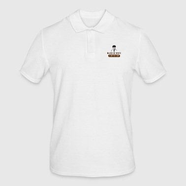 BLACK OR WHITE A COP IS A COP - Men's Polo Shirt