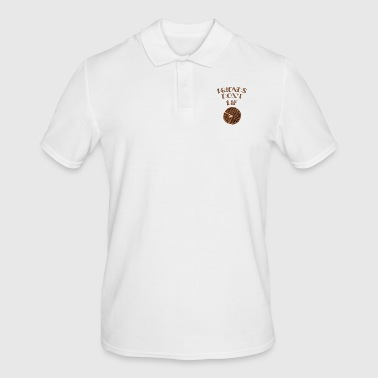 Friends Don't Lie Chocolate Waffle Funny Novelty - Men's Polo Shirt