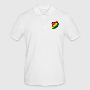 Reggae reggaeton music grass chilling gift - Men's Polo Shirt