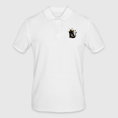 Trick or Treat - trick or treat kat - Mannen poloshirt