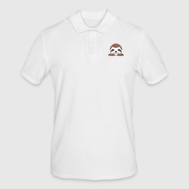 Cute animals - sloth - Men's Polo Shirt