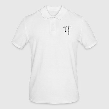 Heart on the hack - Men's Polo Shirt