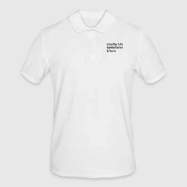 Cynical Inspirational Quote, Inspirational Quote, Cynical - Men's Polo Shirt