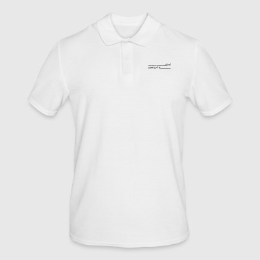 Start Start een frisse start-up stemming - Mannen poloshirt