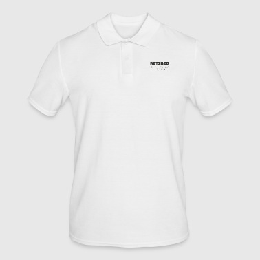 Retired not my problem anymore - Men's Polo Shirt