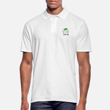 Gold St. Patrick's Day design - Men's Polo Shirt