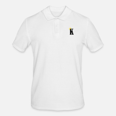 Playing Card Poker King Cards Play Kicker Card - Men's Polo Shirt