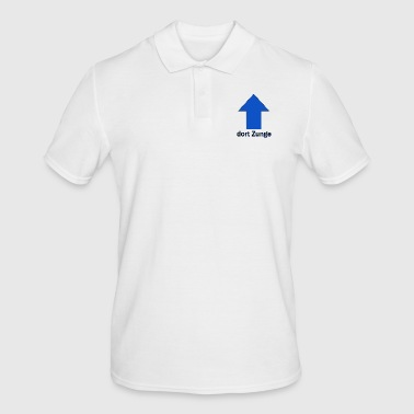 Tongue there tongue - Men's Polo Shirt