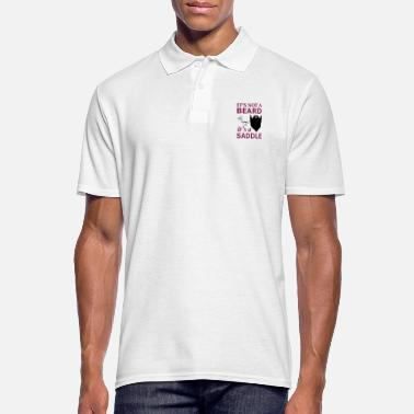 Saddle It is not a beard, but a saddle - Men's Polo Shirt